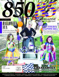 The Oct '15 cover of 85085 Magazine  Produced by The Media Barr  www.85085magazine.com www.themediabarr.com