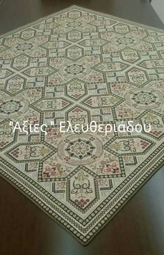 This Pin was discovered by Νίκ Cross Stitching, Cross Stitch Embroidery, Cross Stitch Patterns, Hobbies And Crafts, Diy And Crafts, Cross Stitch Heart, Crochet Tablecloth, 3d Wallpaper, Filet Crochet
