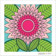 Colorfy is an app where you can make wonderful art.  It an adult color book!!!!