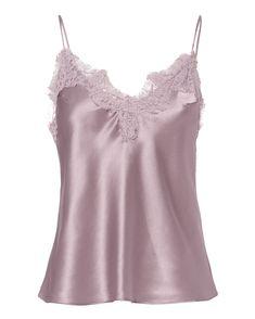 FLEUR DU MAL Lace-Trimmed Cami. #fleurdumal #cloth #
