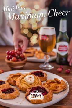 If you're looking for something unique to bring to the table this holiday season, consider embracing a little taste of Europe - emphasis on little. While small in stature, Mini Pies are huge on flavor, and whether you go the sweet or savory route, they'll go perfectly with Stella Artois.