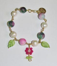 Comprar Pulsera de Perlas y Ágatas - agapenatural.es