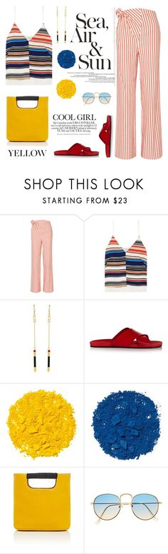 """TROUSERS!!!"" by erindream ❤ liked on Polyvore featuring Rosie Assoulin, Edun, Isabel Marant, Gucci, Illamasqua and Simon Miller"