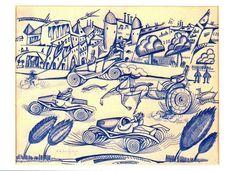 Amadeo de Souza-Cardoso was a Portuguese painter born in Mancelos, a parish of Amarante. Collages, Modernisme, Italian Painters, Portraits, Art Drawings Sketches, Art Database, Op Art, Animal Paintings, Art History