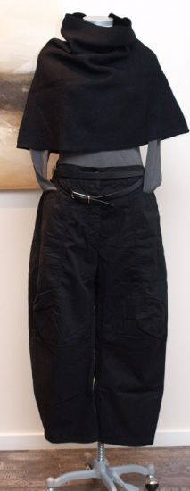rundholz black label - Hose Baggy Cotton black - Winter 2013 (Boho Top Crop)