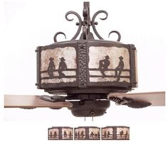 Praying cowboy ceiling fan for the home pinterest ceiling fan western ceiling fan aloadofball Gallery
