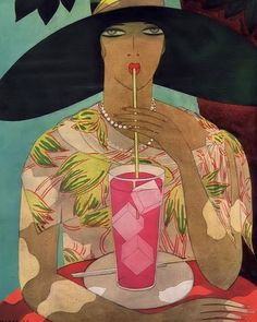 Harriet Meserole  cover art for Vogue  1926