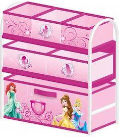 Venta Mueble organizador Princesas Disney. Metal y tela. TB84939PS