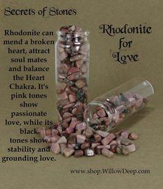 Rhodonite for Love