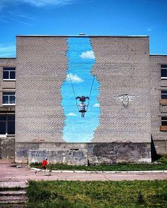 Zebra Art provides the information about the art world. News about painting, photography, illustration, exhibition, sculpture and installation art. Arte Zebra, Zebra Kunst, Zebra Art, Murals Street Art, Art Mural, Street Art Graffiti, Urban Street Art, Best Street Art, Amazing Street Art
