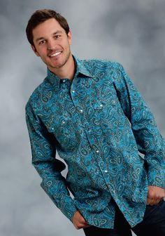 "Mens Western Shirt - ""Austin"""