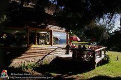 Deck Casa de Té Arrayán - San Martin de los Andes