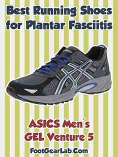 cf6fec8039791 ASICS Men's GEL Venture 5 - Best Running Shoes For Plantar Fasciitis Men -  #plantarfasciitis