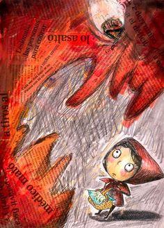 illustration of Little Red