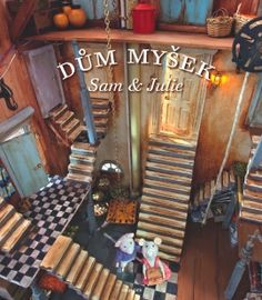 """decadent-dollhouse: """"""""The Mouse Mansion of Sam & Julia"""" (""""Het Muizenhous Sam & Julia""""), a 100 room doll house by Karina Schaapman Amsterdam, Noord Holland, Nederland. Baby Kind, Julia, Magical Creatures, Small World, New Pictures, Luxor, Dollhouse Miniatures, The Book, Childrens Books"""