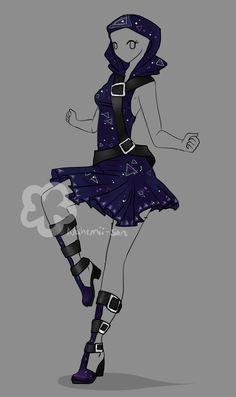 Fantasy Outfit Auction - closed by Nahemii-san.deviantart.com on @DeviantArt