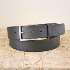 Belt No. 4 leather belt. From the Broundal collection of handmade leather goods designed and produced in Denmark.
