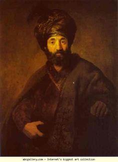 Rembrandt, Portrait of a Turkish man