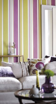 Did something very similar to this in Cali's room (wall stripes and colors)