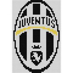 Pixel Art Juventus, Juventus Logo, Drawing Editor, Image Pixel Art, Pixel Drawing, Football Themes, Online Drawing, Drawing Games, Alpha Patterns