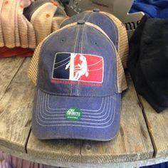Major League Woodwalker Trucker Cap (Blue)