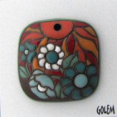 Pendants inspired by the nature Details --  #Golem Studio