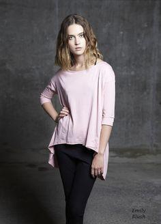 Emily Blush/Asymmetric Fall/Crop Sleeve/Pastel/Spring 2013