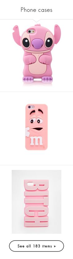 """Phone cases"" by queenlove-996 ❤ liked on Polyvore featuring accessories, tech accessories, phone cases, comic book, pink stitch, silicone iphone case, iphone cover case, pink iphone case, iphone case and silicon iphone case"