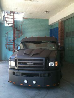 Custom one off dually van. Built by Michael Beall. Based off a 1998 ford cargo van.