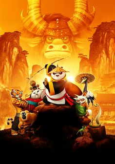 Kung Fu Panda 3...I'm pretty sure I'm going to need thirty years in a cave also, to master anything in my Life...