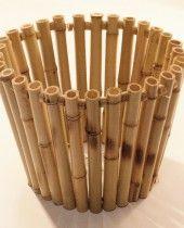 Cachepot Bambu