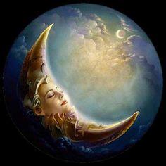 wiccan pagan how to cast a fast circle Moon Moon, Sun Moon Stars, Sun And Stars, Blue Moon, Illustrations Poster, Moon Illustration, Moon Pictures, Moon Photos, Good Night Moon