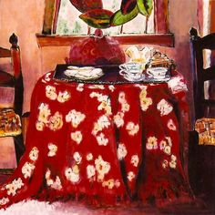 The Red Tablecloth 3'x3'.jpg (798×800)