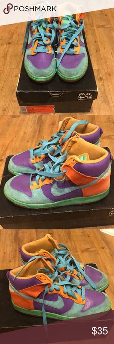 Nike dunk high 6.0 Nike dunk high 6.0 flaws in pics Nike Shoes