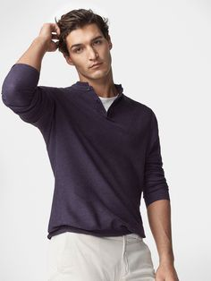 Autumn winter 2016 Men´s FANCY KNIT CARDIGAN at Massimo Dutti for 139000. Effortless elegance!