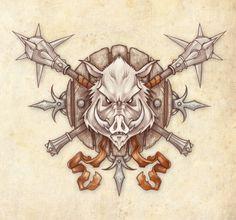 Wild Boar Clan Logo by Neekou