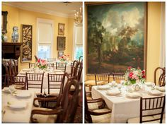 Today's BLOG: Harry P. Leu Gardens and The Courtyard at Lake Lucerne are beautiful venues for weddings! We love how peaceful the garden looks before guests arrived and how cozy the reception feels! You must see which pops of color the bride chose - we love it! More photos here: http://www.orlandoweddingandpartyrentals.com/leu-gardens-courtyard-at-lake-lucerne-wedding/ Photo by: ArtPhotoSoul Photographers