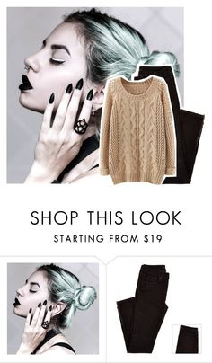 """""""- sighs - my head hurts. - kinley"""" by celebandnoncelebanons ❤ liked on Polyvore"""