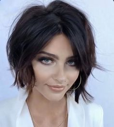Short bob hairstyles 716072409488484869 - Are you looking for your next hair cut look? View the link below to get Hottest Short Bob Haircuts for Beautiful Women! hairstyles haircut shorthair bob 693343305120032540 Source by Short Bob Haircuts, Hairstyles Haircuts, Short Haircuts For Women, Shaggy Bob Hairstyles, Haircut Short, Summer Hairstyles, Braided Hairstyles, Light Hair, Great Hair