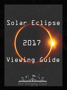 Few things get me as excited as astronomy. This time, it's because we're going to have a solar eclipse, and we're TOTALLY excited about that.