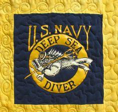 Deep Sea Diver t-shirt panel