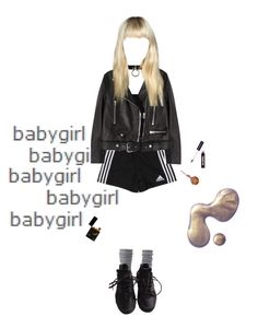 """babygirl"" by papawine on Polyvore featuring T By Alexander Wang, adidas, Acne Studios, Charlotte Russe, NIKE and Ardency Inn"