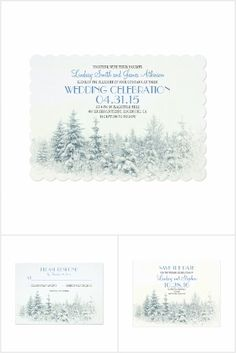 Winter Wedding Collection
