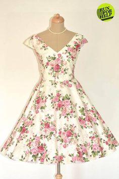 Beautiful flowers dress