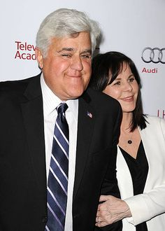 Comedian Jay Leno and wife Mavis Leno attend the Television Academy's 23rd Hall of Fame induction gala at Regent Beverly Wilshire Hotel on March 11...