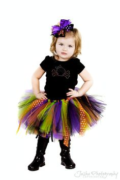 DIY kids witch tutu costume | some wings for an exclusive white tutu classic witch tututhe