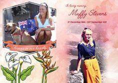 Rest in peace mum. Muffy Stevens (1953-2017)