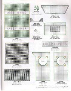 Holiday Train Pattern 11/32