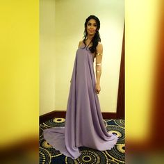 Julia Barretto @juliaabarrettoo tonight's bohemia...Instagram photo | Websta (Webstagram) Debut Gowns, Purple And Gold Wedding, Purple Dress, Actresses, Boho, Formal Dresses, My Style, 18th, Greek