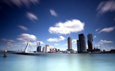 Rotterdam Skyline by Peter Luckel, via Flickr